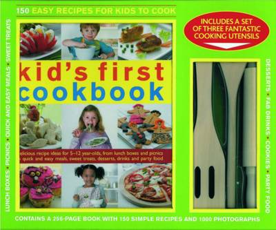150 Easy Recipes for Kids to Cook - KIT (Paperback)