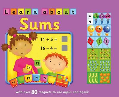 Magnetic Learn About Sums (Board book)