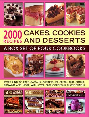 2000 Recipes: Cakes, Cookies & Desserts (Paperback)