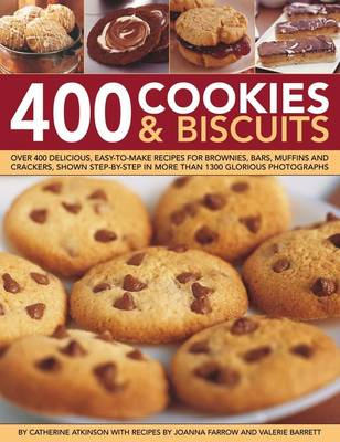 400 Cookies & Biscuits (Hardback)