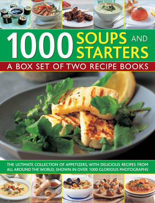 1000 Soups and Starters (Hardback)