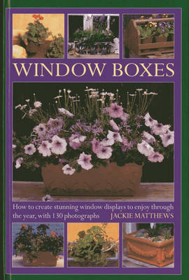 Window Boxes: How to Create Stunning Window Displays to Enjoy Throughout the Year (Hardback)