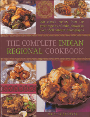 Complete Indian Regional Cookbook (Hardback)