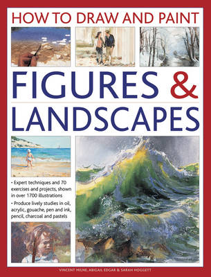 How to Draw and Paint Figures & Landscapes (Hardback)
