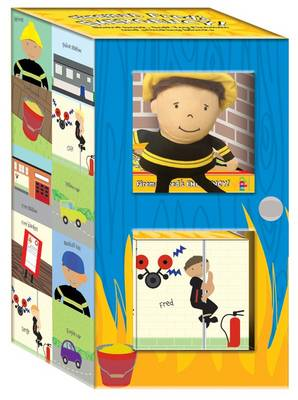Early Learning Plush Boxed Set - Fireman Fred - Early Learning Plush Boxed Set