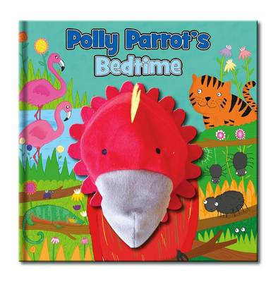 Large Hand Puppet Book - Polly Parrot's Bedtime - Large Hand Puppet Book