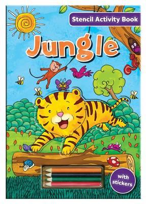 Stencil Activity Book - Jungle - Stencil Activity Book