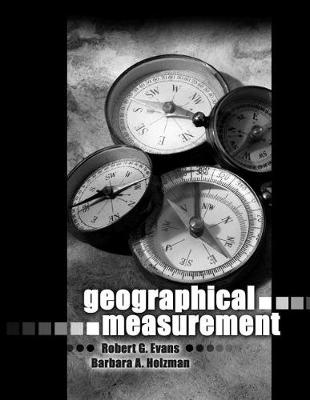 Geographical Measurement (Paperback)