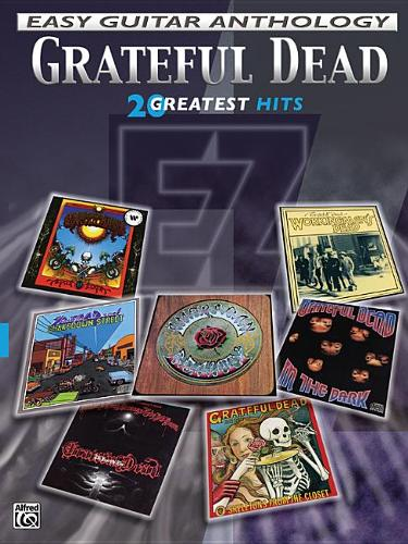 Grateful Dead: Easy Guitar Anthology (Paperback)