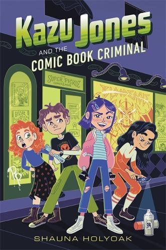 Kazu Jones and the Comic Book Criminal (Paperback)