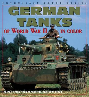 German Tanks of World War II (Paperback)