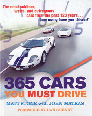 365 Cars You Must Drive (Paperback)