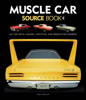 Muscle Car Source Book: All the Facts, Figures, Statistics, and Production Numbers (Hardback)