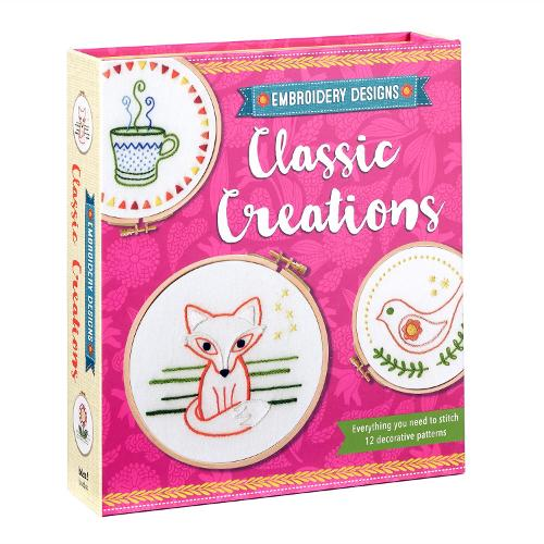Embroidery Designs Classic Creations: Everything You Need to Stitch 12 Decorative Patterns - Embroidery Designs