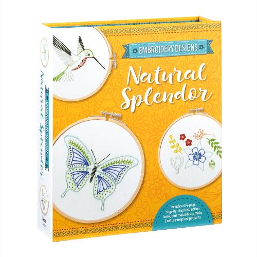 Embroidery Designs: Natural Splendor: Everything You Need to Stitch 12 Natural Designs - Embroidery Designs