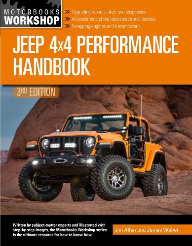 Jeep 4x4 Performance Handbook, 3rd Edition (Paperback)