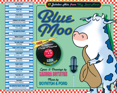 Blue Moo Book & CD (Paperback)