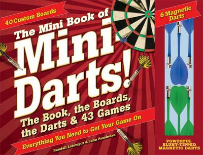 Mini Book of Mini Darts!: The Book, the Boards, the Darts, and 43 Games (Paperback)