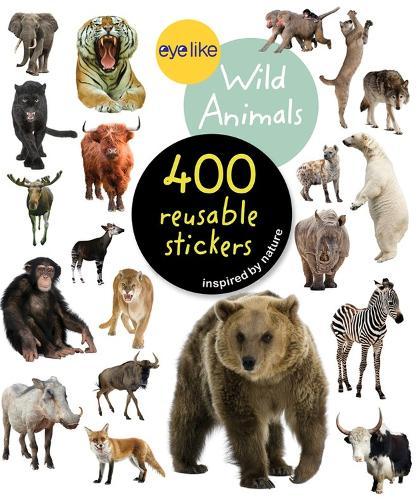 Wild Animals - Eyelike Stickers (Paperback)