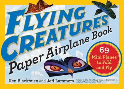 Flying Creatures Paper Airplane Book (Paperback)