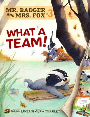 Mr Badger and Mrs Fox Book 3: What A Team (Paperback)