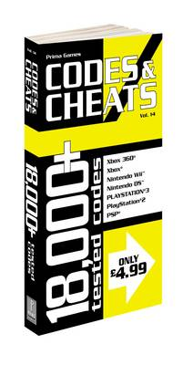 Codes and Cheats: v. 14: Prima Official Codes and Cheats Book (Paperback)