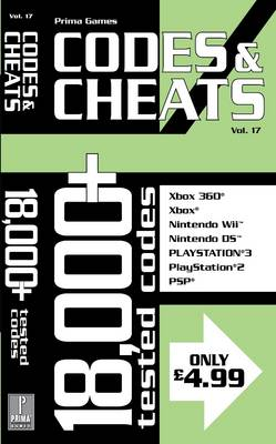 Codes and Cheats: v. 17 (Paperback)