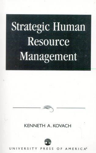 Strategic Human Resource Management (Paperback)