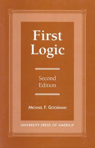 First Logic (Paperback)