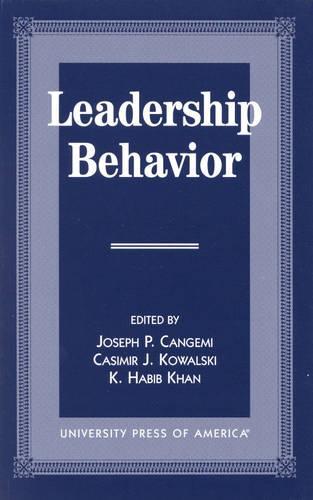 Leadership Behavior (Hardback)