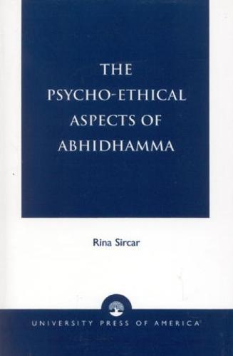The Psycho-Ethical Aspects of Abhidhamma (Hardback)