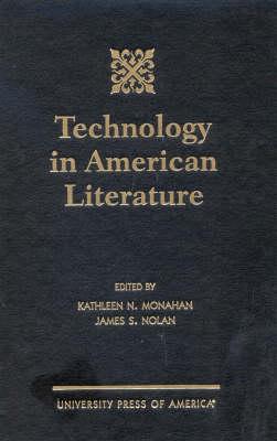 Technology in American Literature (Hardback)