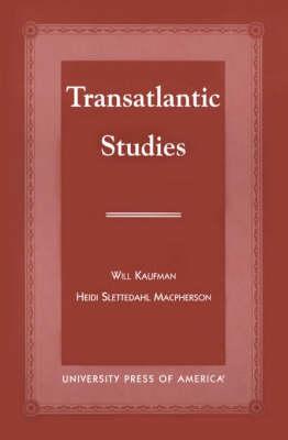 Transatlantic Studies (Paperback)