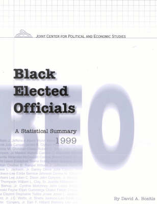Black Elected Officials 1999: A Statistical Summary (Paperback)