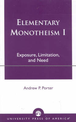 Elementary Monotheism (Paperback)