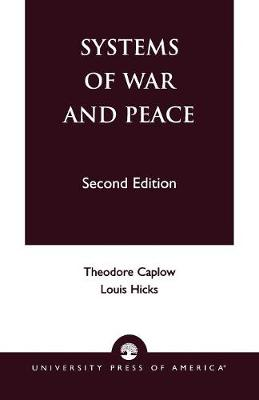 Systems of War and Peace (Paperback)