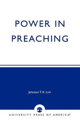 Power in Preaching (Paperback)