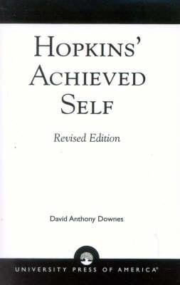Hopkins' Achieved Self (Paperback)