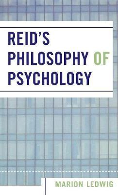 Reid's Philosophy of Psychology (Hardback)