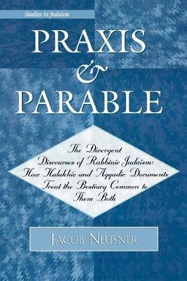 Praxis and Parable - Studies in Judaism 174 (Paperback)