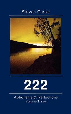 222: Aphorisms & Reflections - 222 (Paperback)