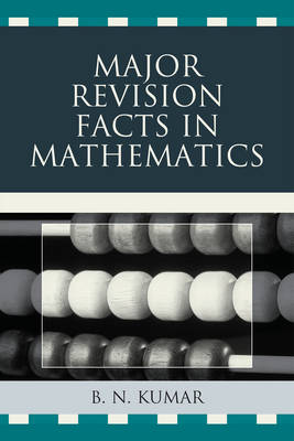 Major Revision Facts in Mathematics (Paperback)