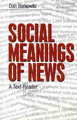 Social Meanings of News: A Text-Reader (Paperback)