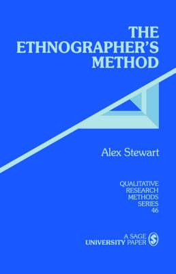 The Ethnographer's Method - Qualitative Research Methods (Paperback)