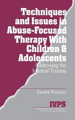 Techniques and Issues in Abuse-Focused Therapy with Children & Adolescents: Addressing the Internal Trauma - Interpersonal Violence: The Practice Series (Hardback)