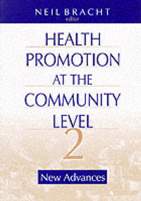 Health Promotion at the Community Level: New Advances (Paperback)