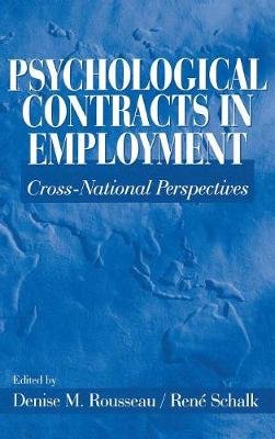 Psychological Contracts in Employment: Cross-National Perspectives (Hardback)