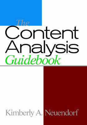 The Content Analysis Guidebook (Hardback)