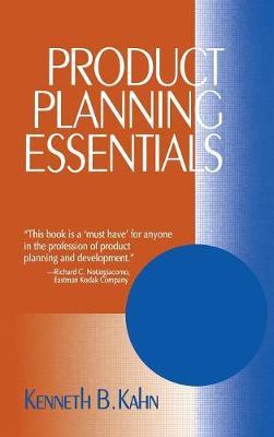 Product Planning Essentials (Hardback)