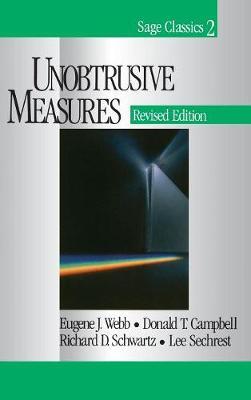 Unobtrusive Measures (Hardback)